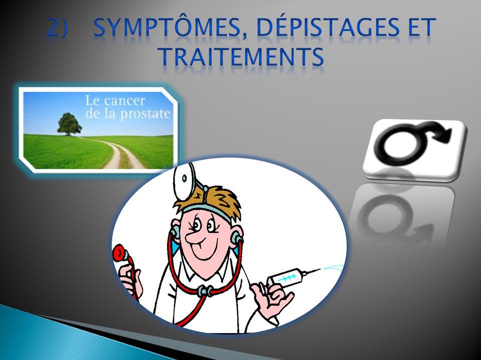 difficultés à uriner douleurs lors des rapports sexuels du sang dans lurine ou le sperme.