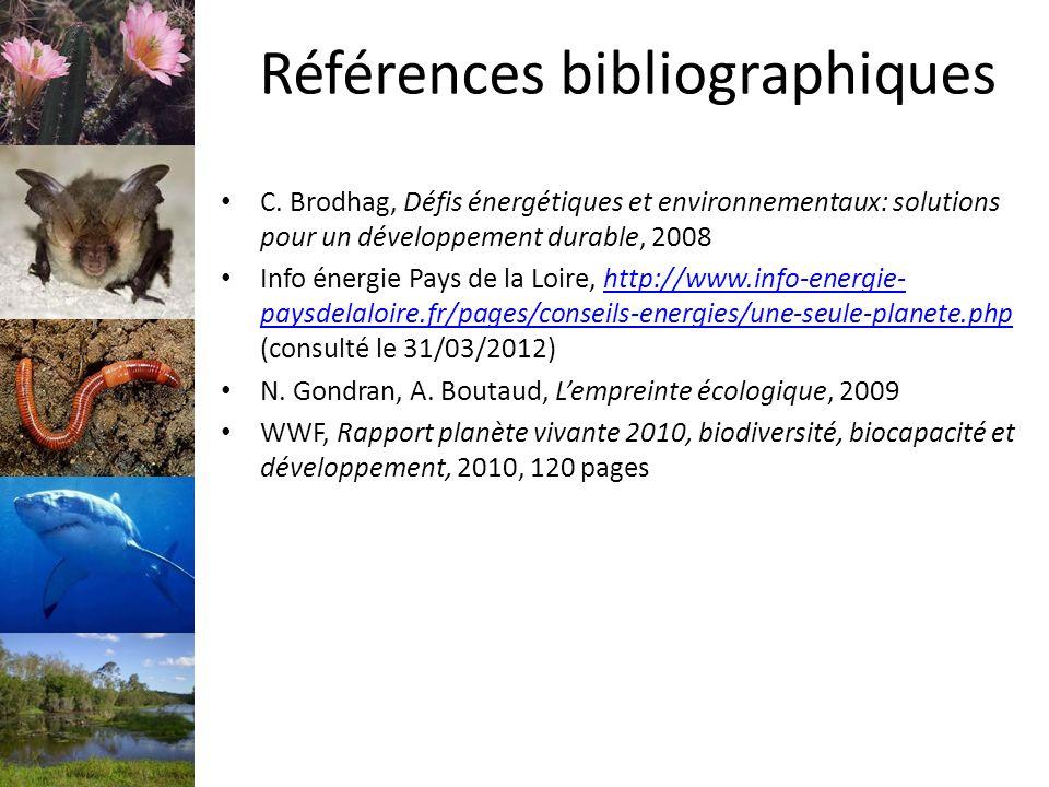 Références bibliographiques C.