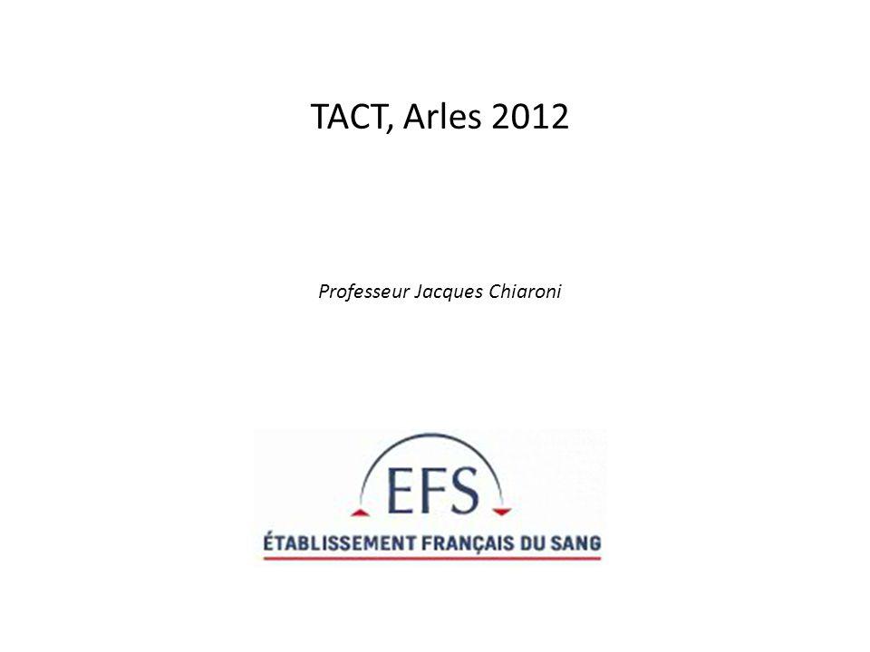 TACT, Arles 2012 Professeur Jacques Chiaroni