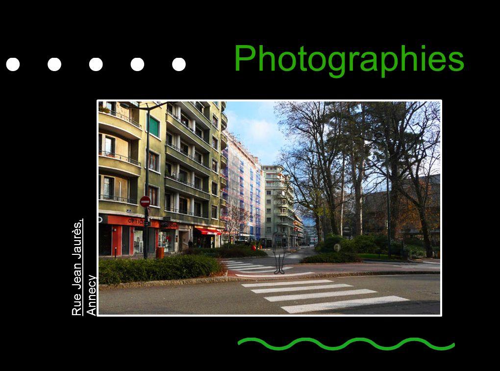 Photographies Rue Jean Jaurès, Annecy