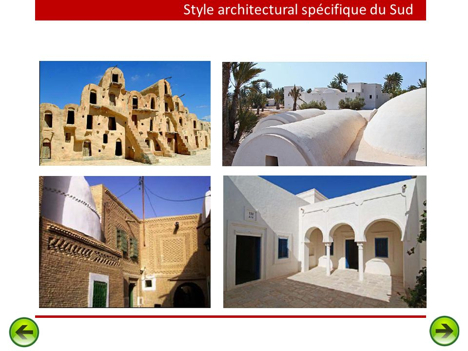 Style architectural spécifique du Sud