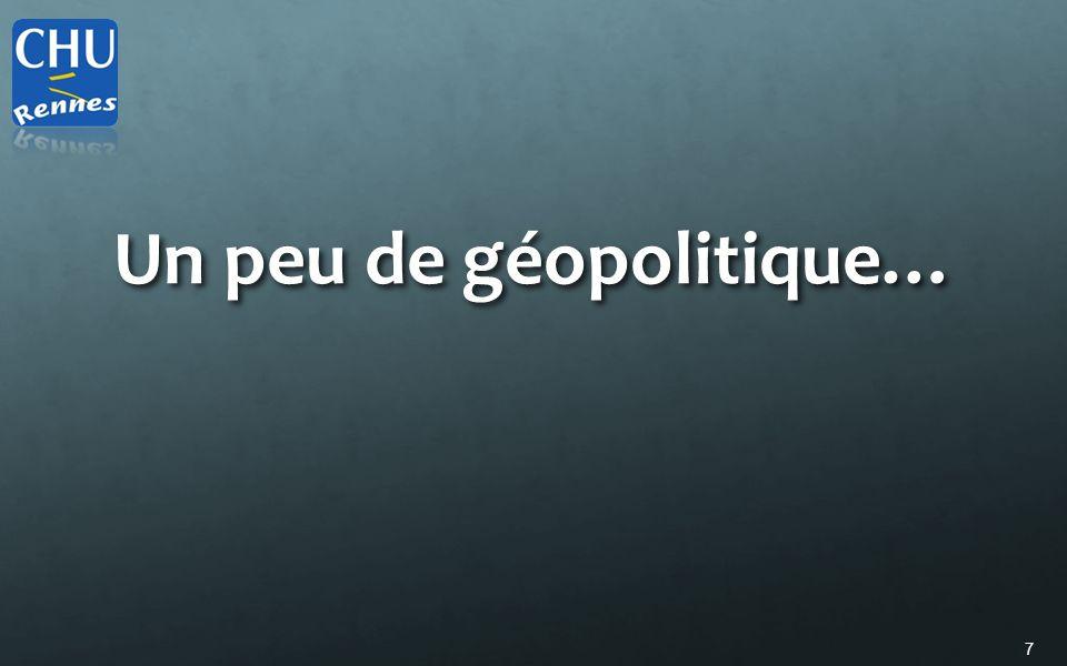 7 Un peu de géopolitique…