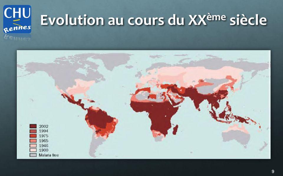 9 Evolution au cours du XX ème siècle