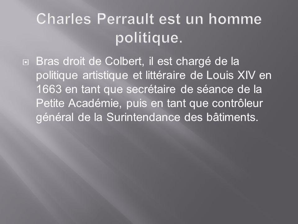 Bras droit de Colbert, il est chargé de la politique artistique et littéraire de Louis XIV en 1663 en tant que secrétaire de séance de la Petite Acadé