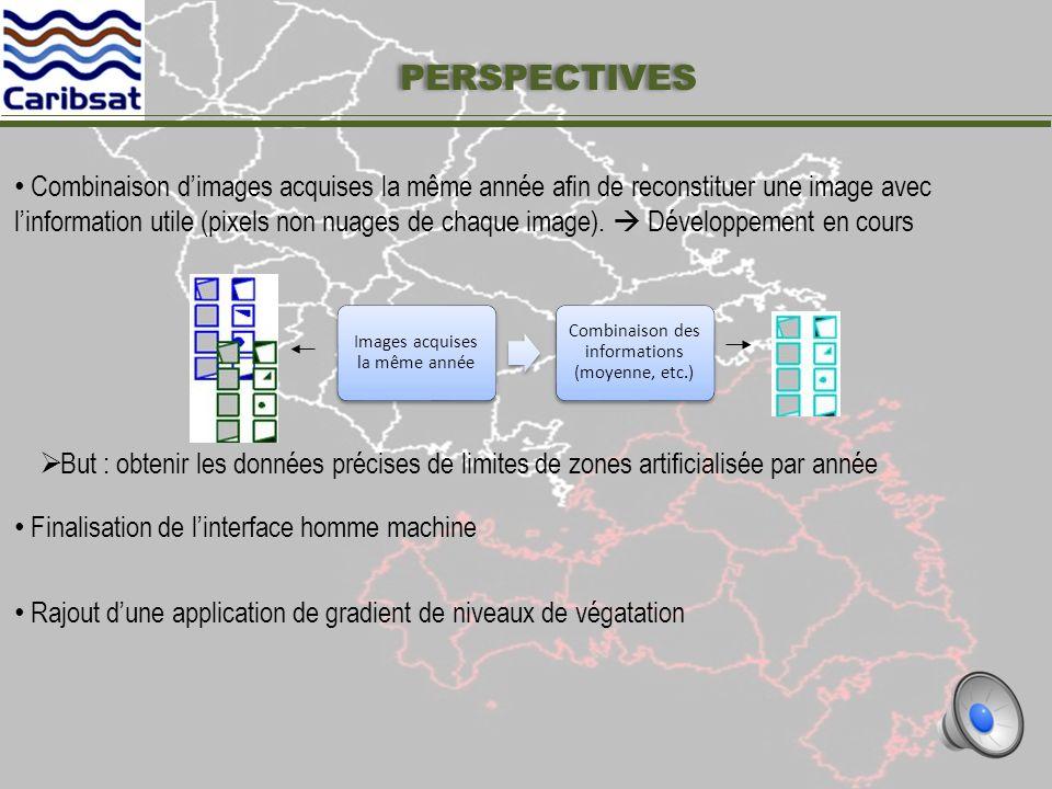 Onglets 2 (en cours de développement) : Analyse qualitative du résultat RESULTATS – IHM