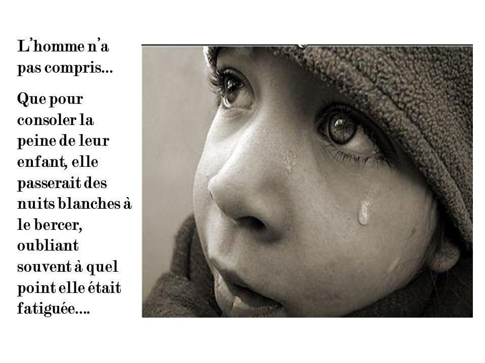 Lhomme na pas compris….