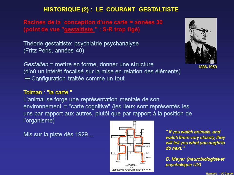Espace L – JC Cassel Racines de la conception d'une carte = années 30 (point de vue