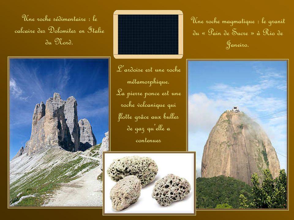 Frederich Mohs. Ce minéralogiste du XVIII e siècle a établi une échelle de dureté des roches : Talc : se décape à longle. Gypse : rayable à longle. Ca