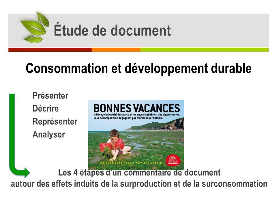 Présentation du document Présenter laffiche Nature : Affiche Source : source : http://www.fne.asso.fr/fr/nos-dossiers/Agriculture/campagne-2011/http://www.fne.asso.fr/fr/nos-dossiers/Agriculture/campagne-2011/ Site Fne.asso.fr Commanditaire : Engagée dans la défense de l environnement, lassociation se positionne : Destinataire : Les pouvoirs publics, les citoyens et les éleveurs bretons.