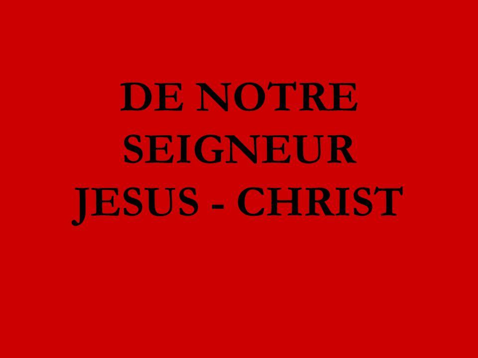 Oui, dit Jésus, je suis doux et humble de cœur.