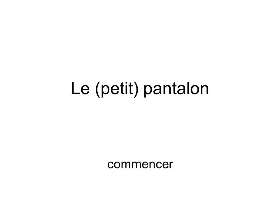 Une homme assez petit et ne sachant pas très bien parler français entre dans un magasin de pantalon, va dans un cabine et demande au vendeur un pantalon … suite