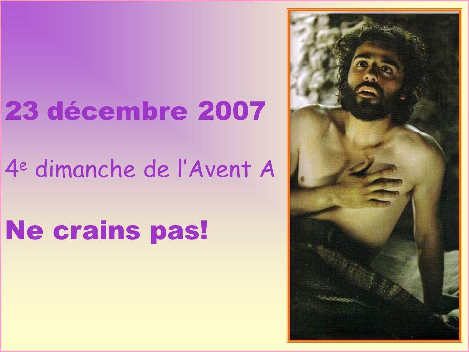 Avent – Noël 2007 Ensemble, accueillir Jésus - Lumière