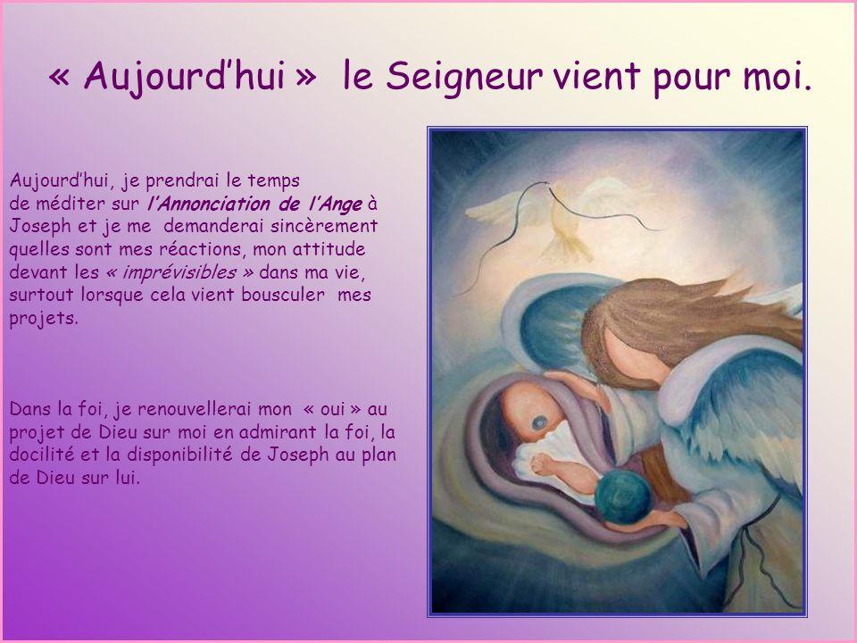 Quand lÉcriture devient Parole Extrait de la méditation du Père Pierre Duvillaret Joseph, lhomme juste Joseph a une place importante à remplir. Il est