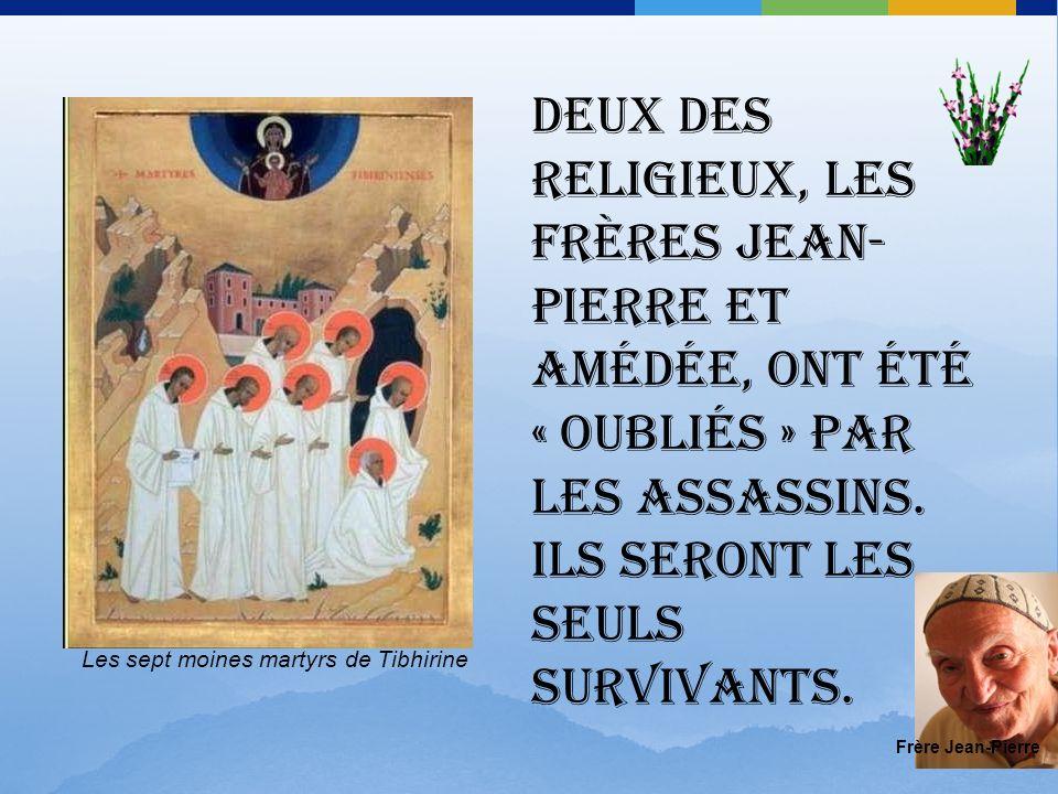 2 juin 1996.Obsèques des moines et du cardinal Duval (décédé quelques jours plus tôt) à Alger.