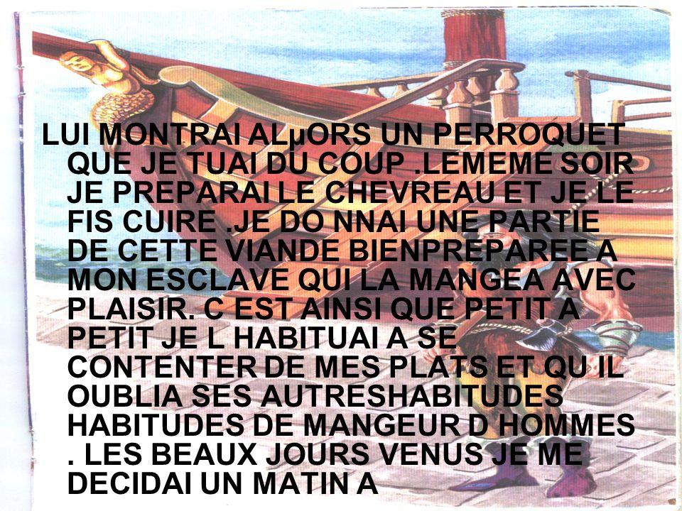 FAIRE UN TOUR LE LOG DES COTES DE MON ILE MAIS COMME J ALLAIS PARTIR VENDREDI REVINT VRES MOI EN COURANT IL PARAISSAIT TRES INQUIET.
