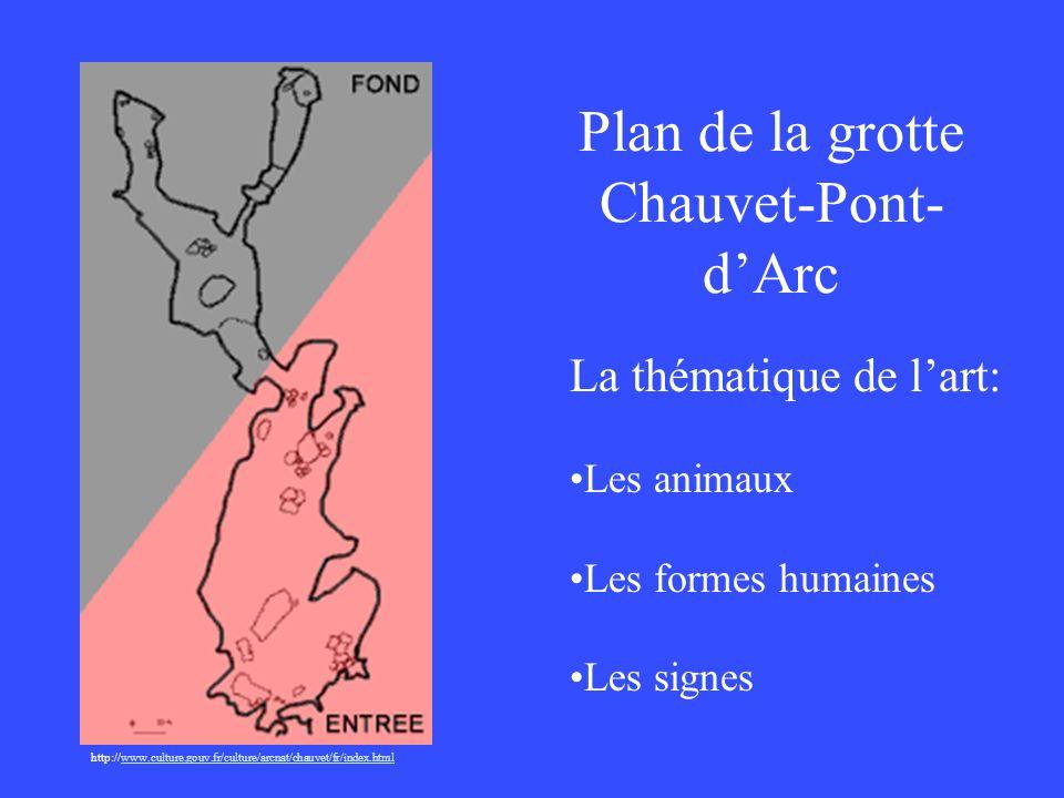 Plan de la grotte Chauvet-Pont- dArc http://www.culture.gouv.fr/culture/arcnat/chauvet/fr/index.htmlwww.culture.gouv.fr/culture/arcnat/chauvet/fr/inde
