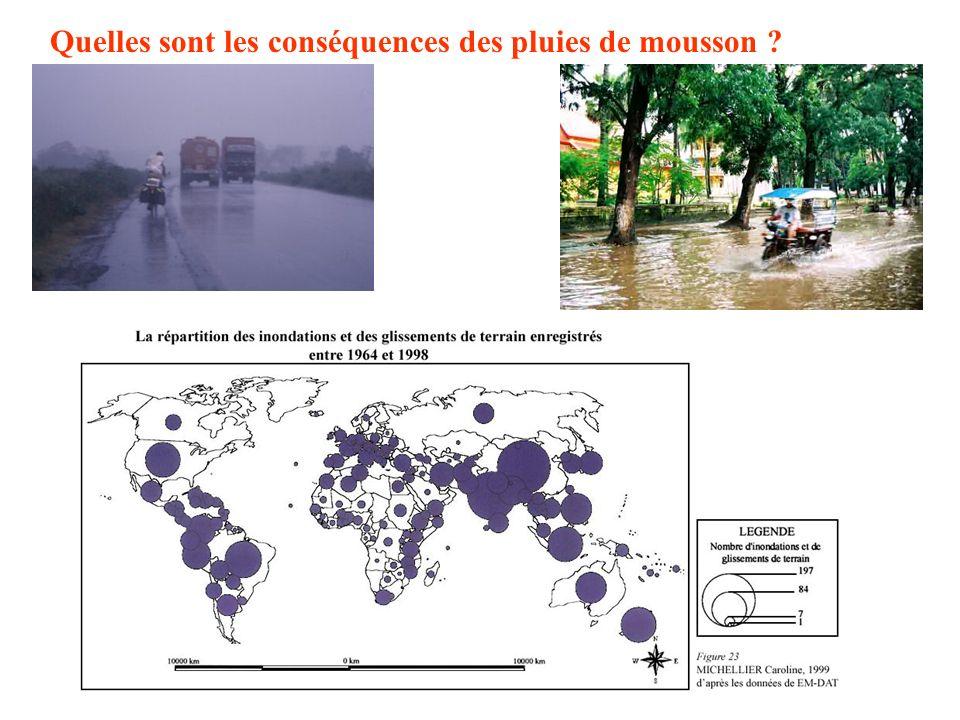 Quest-ce que le climat des moussons ? La mousson dhiver La mousson dété