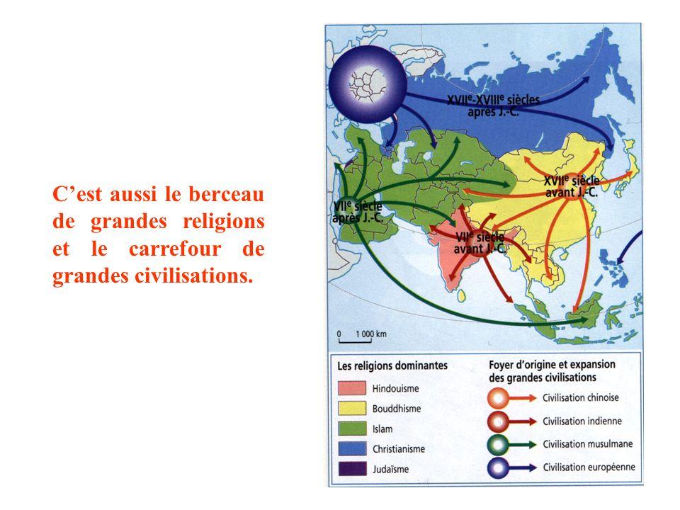 Exact ! Avec 44 millions de km2 (4 fois lEurope), lAsie est le plus grand des continents.