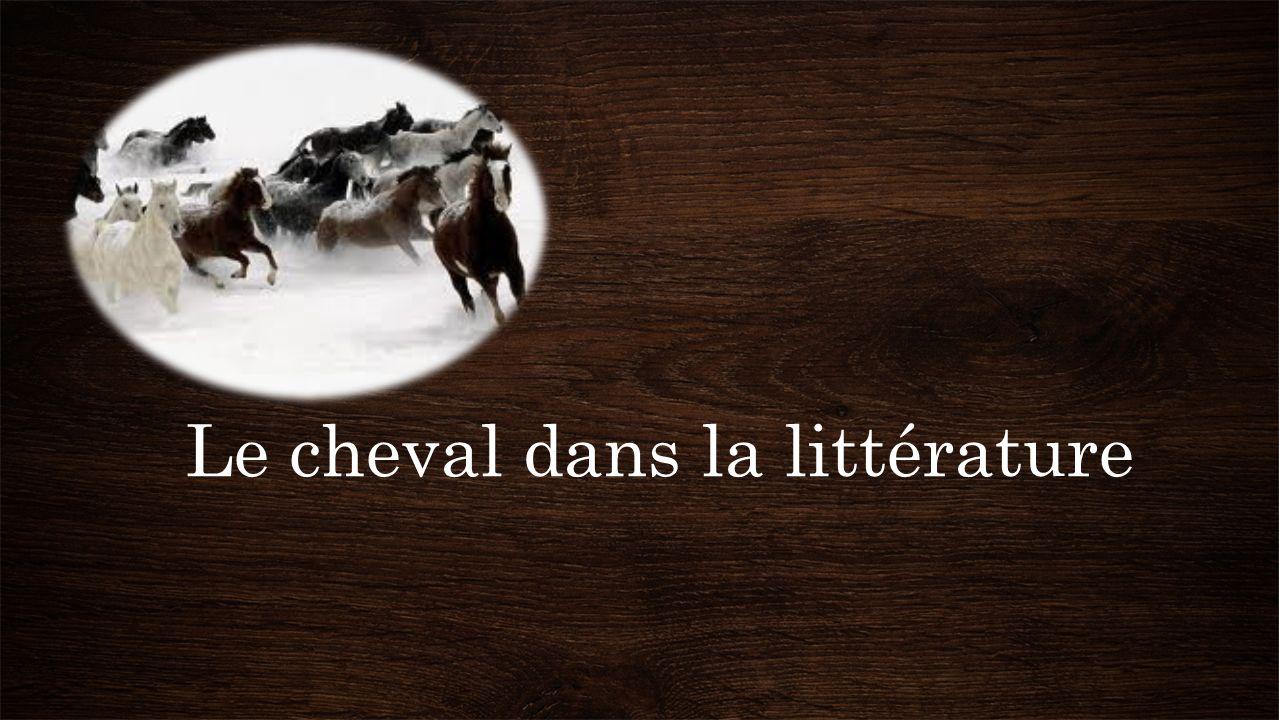 Le cheval dans la littérature