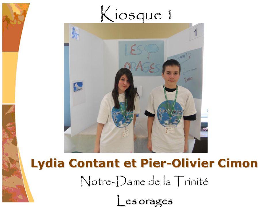 Lydia Contant et Pier-Olivier Cimon Notre-Dame de la Trinité Les orages Kiosque 1