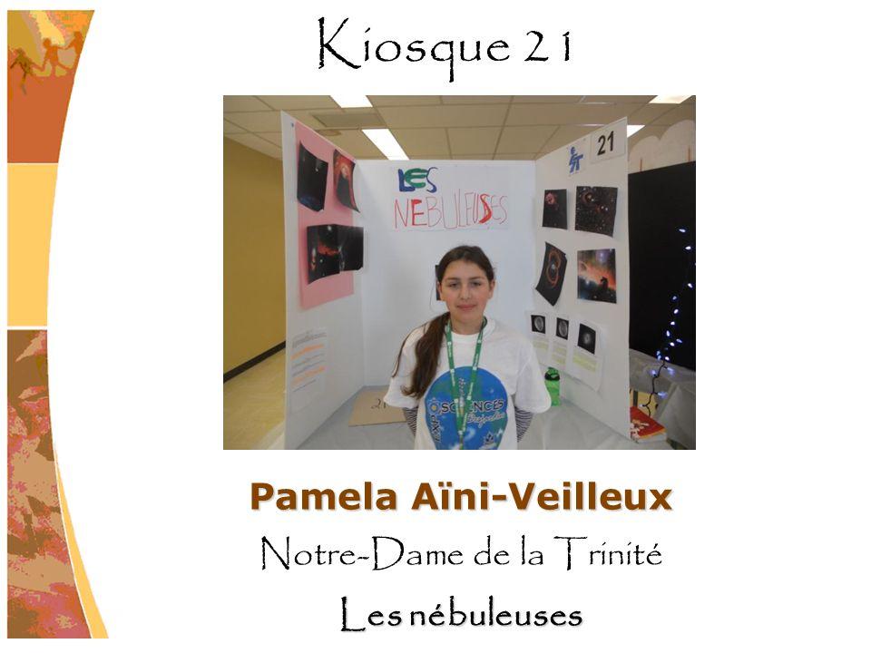 Pamela Aïni-Veilleux Notre-Dame de la Trinité Les nébuleuses Kiosque 21