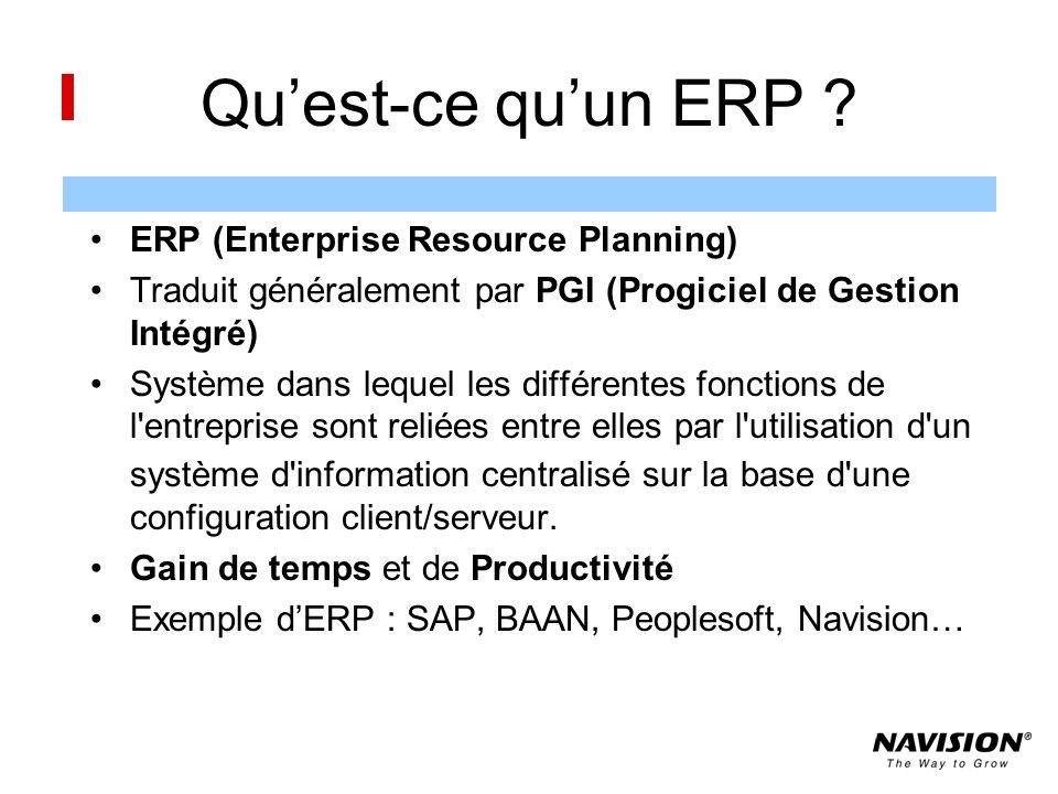 Quest-ce quun ERP .
