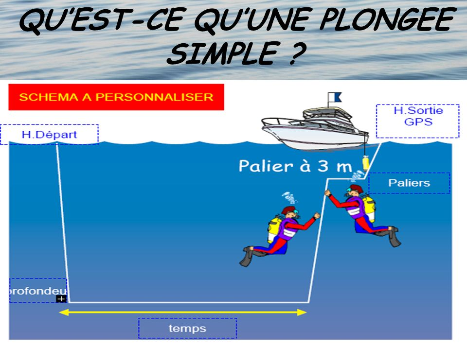 QUEST-CE QUUNE PLONGEE SIMPLE ?