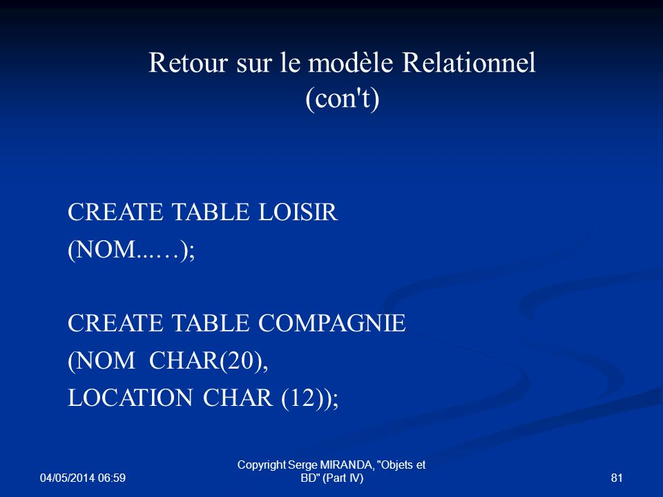 04/05/2014 07:01 81 Copyright Serge MIRANDA,