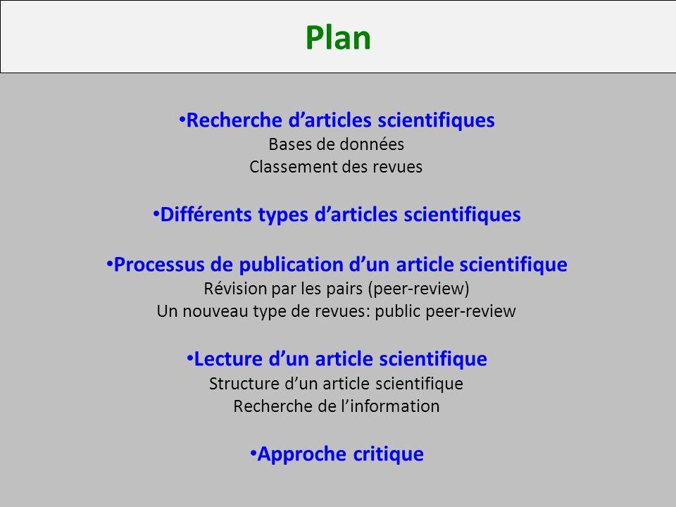 Lecture critique d'article scientifique by Justine bar on Prezi
