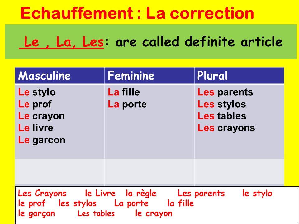 14. Que veut dire…en anglais? What does…mean in English?