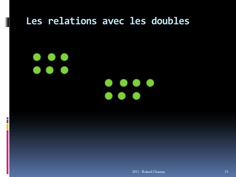 Les relations avec les doubles 2011 - Roland Charnay 31