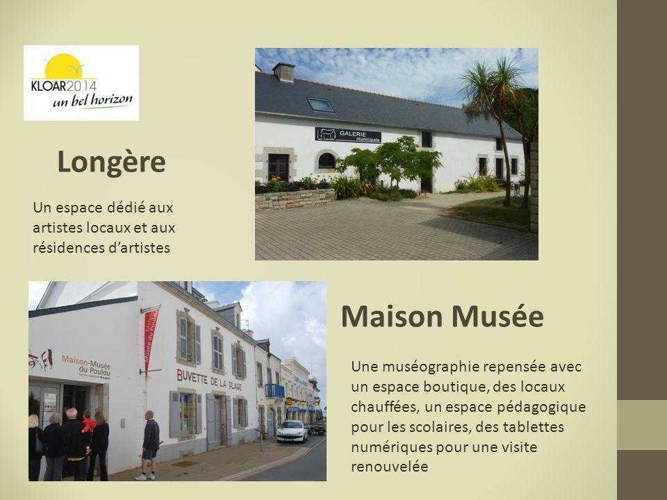 Longère Maison Musée Un espace dédié aux artistes locaux et aux résidences dartistes Une muséographie repensée avec un espace boutique, des locaux cha