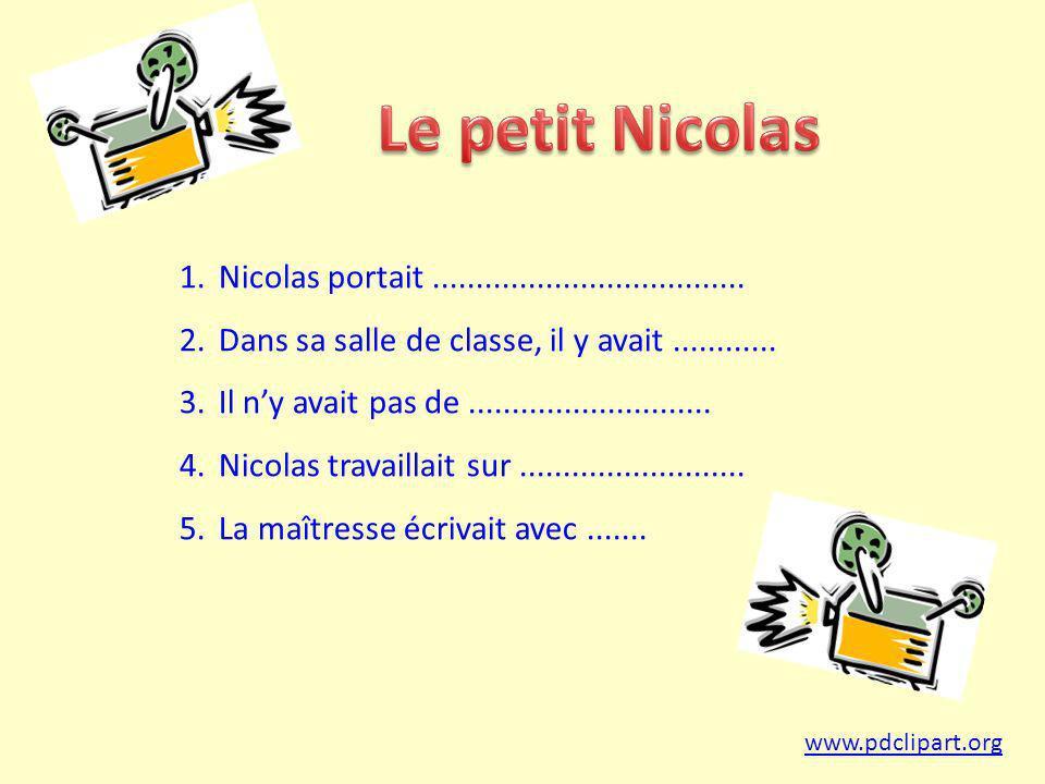 1.Nicolas portait....................................