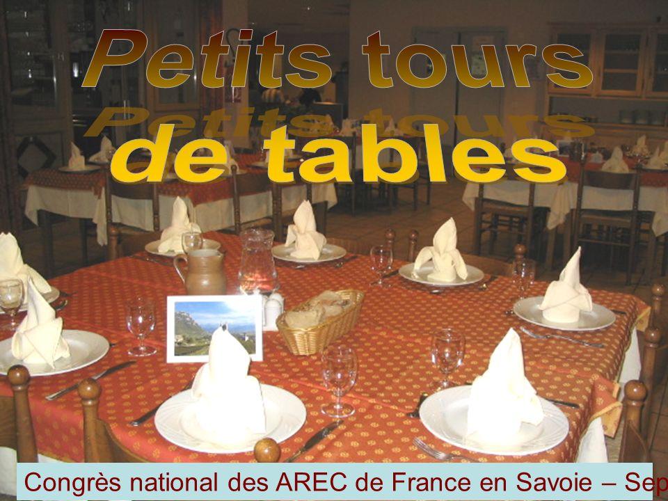 Congrès national des AREC de France en Savoie – Septembre 2008