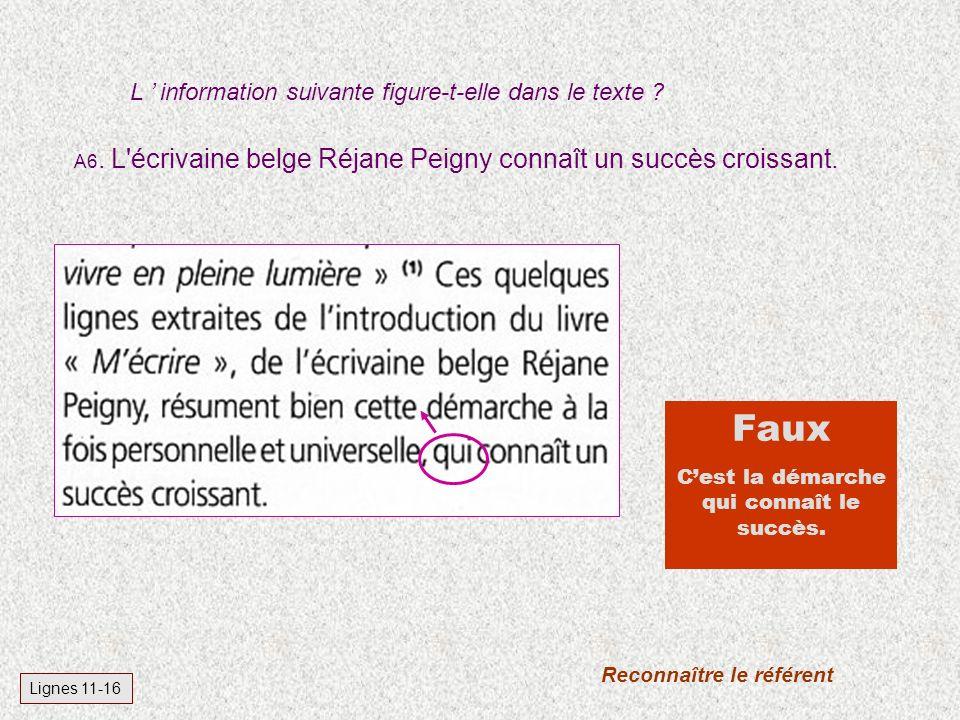 A6.L écrivaine belge Réjane Peigny connaît un succès croissant.
