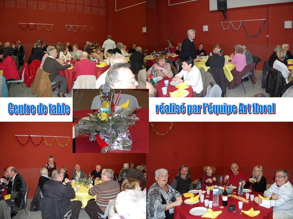 20 tables décorées attendaient les convives