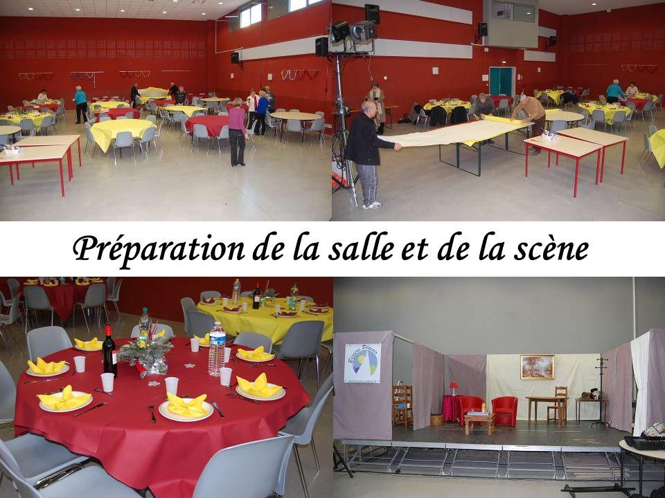 Léquipe danimation est heureuse de recevoir 155 adhérents pour le traditionnel repas annuel