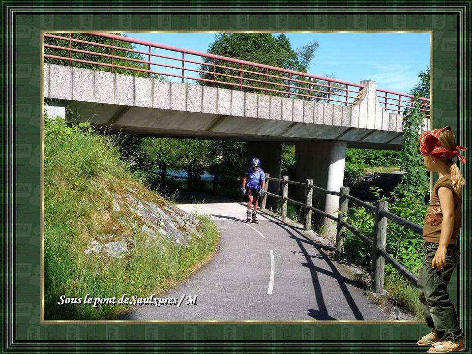 Sous le pont de Saulxures / M Sous le pont de Saulxures / M