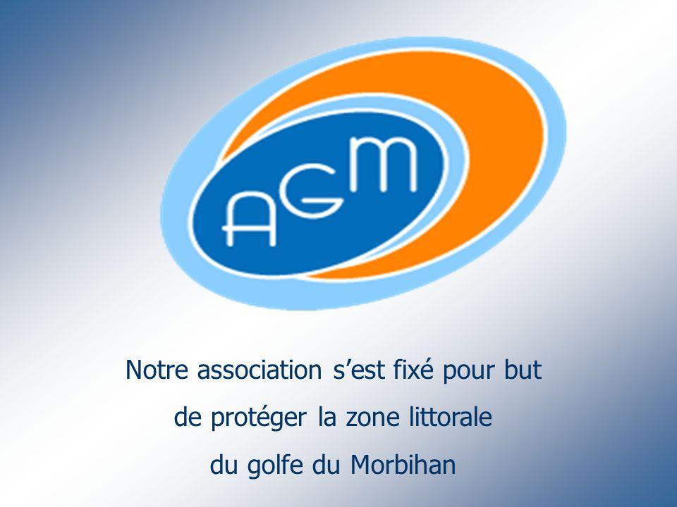 Notre association sest fixé pour but de protéger la zone littorale du golfe du Morbihan
