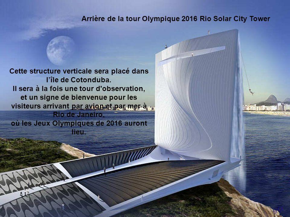 Tour olympique 2016 - Rio Solar City Tower Conception La Tour Solar City est un concept envisagé par Zurich architecture basée sur le studio de concep