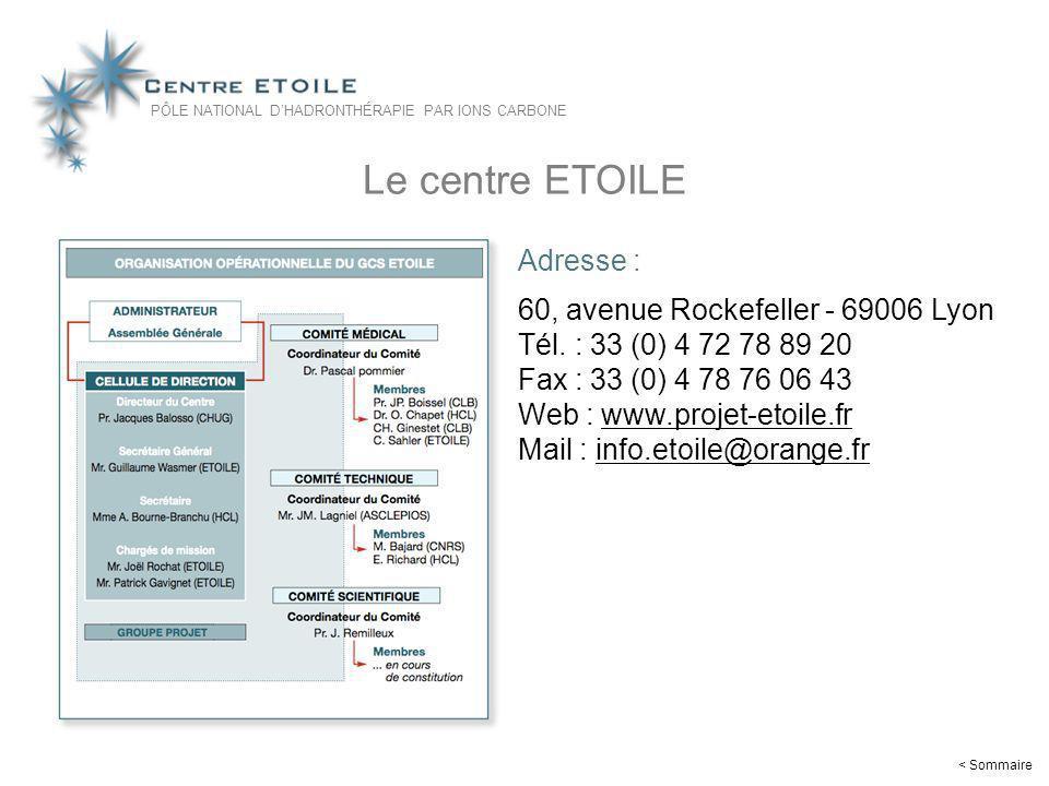 28 Le centre ETOILE Adresse : 60, avenue Rockefeller - 69006 Lyon Tél. : 33 (0) 4 72 78 89 20 Fax : 33 (0) 4 78 76 06 43 Web : www.projet-etoile.frwww