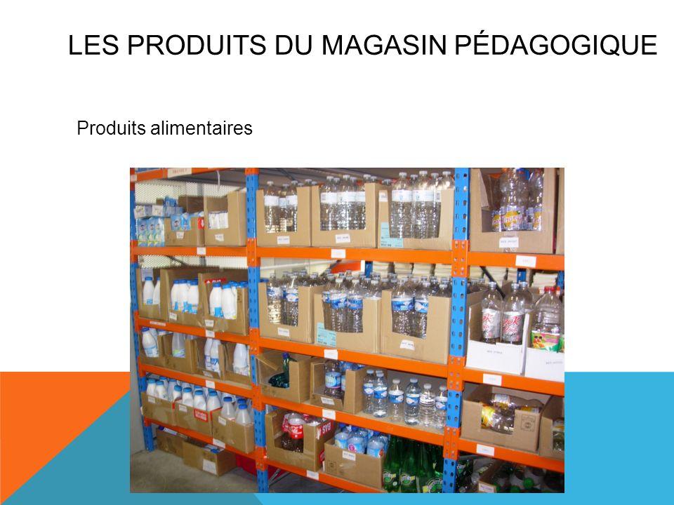 Produits alimentaires LES PRODUITS DU MAGASIN PÉDAGOGIQUE