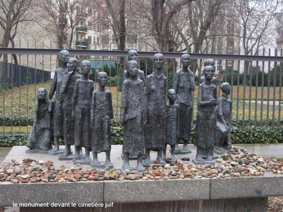 le mémorial des juifs déportés