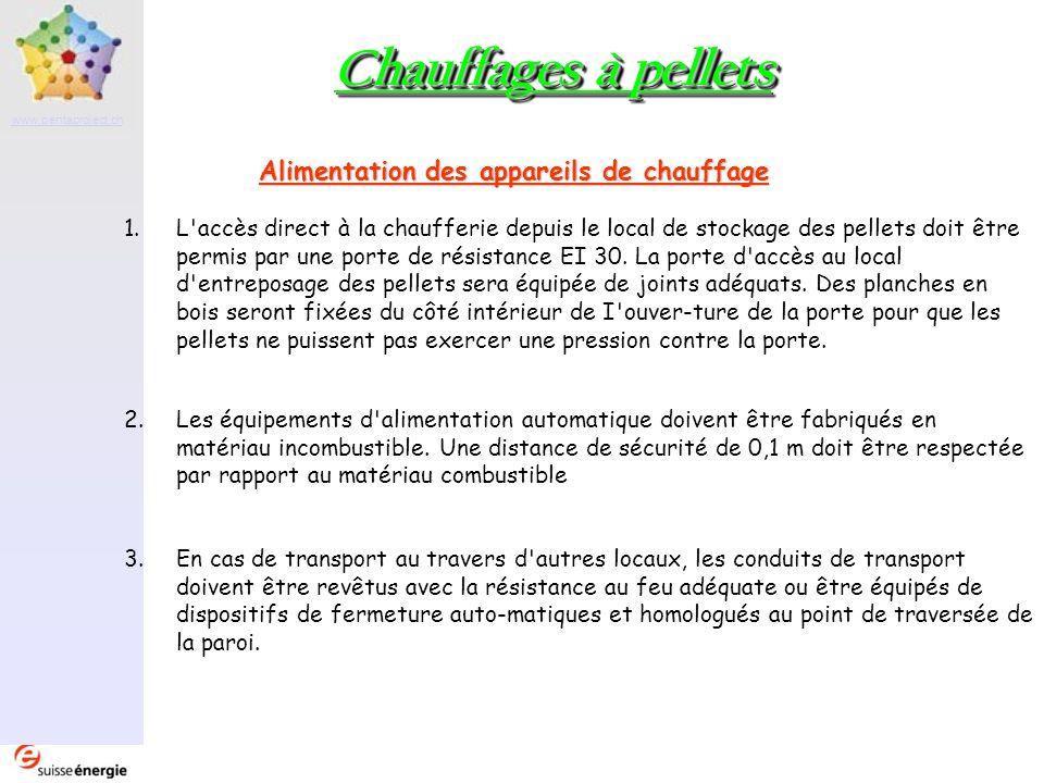 Partenaire www.pentaproject.ch Chauffages à pellets Exemples dinstallations