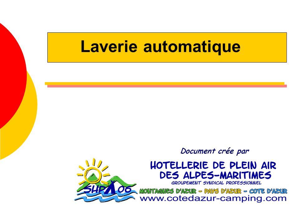 Laverie automatique Document crée par