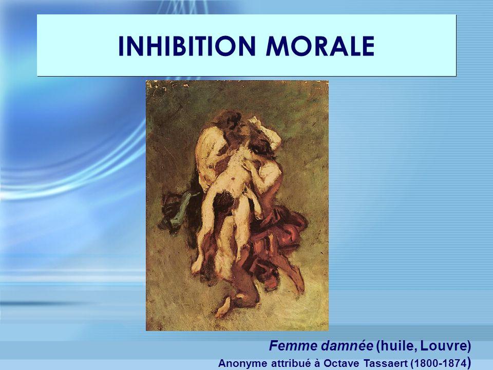 Femme damnée (huile, Louvre) Anonyme attribué à Octave Tassaert (1800-1874 )