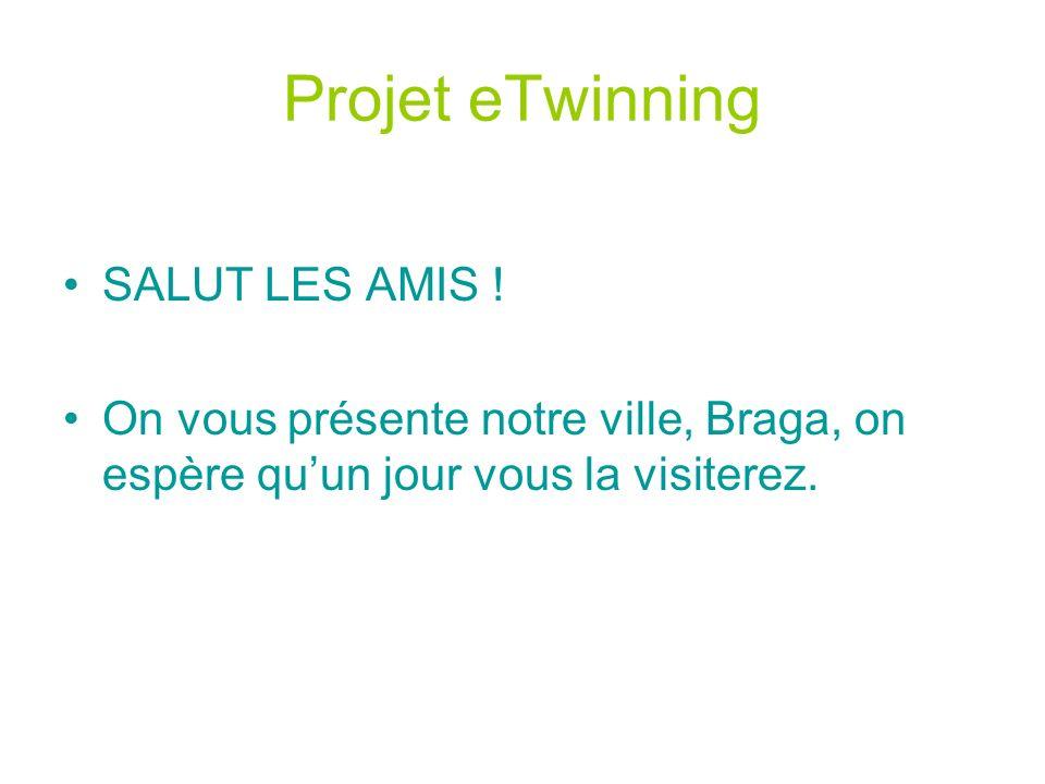 Projet eTwinning SALUT LES AMIS .