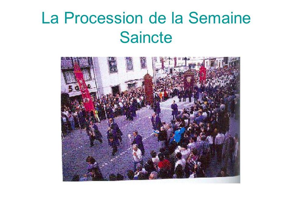 La Procession de la Semaine Saincte