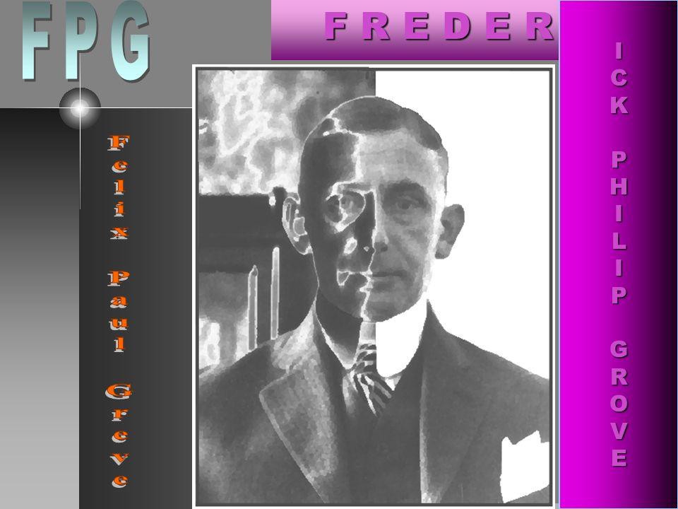 Gide à travers les frontières allemandes, canadiennes et américaines: ses relations avec FPG [Felix Paul Greve, 1879-1948] par Gaby Divay / vendredi, 15 juin 2012