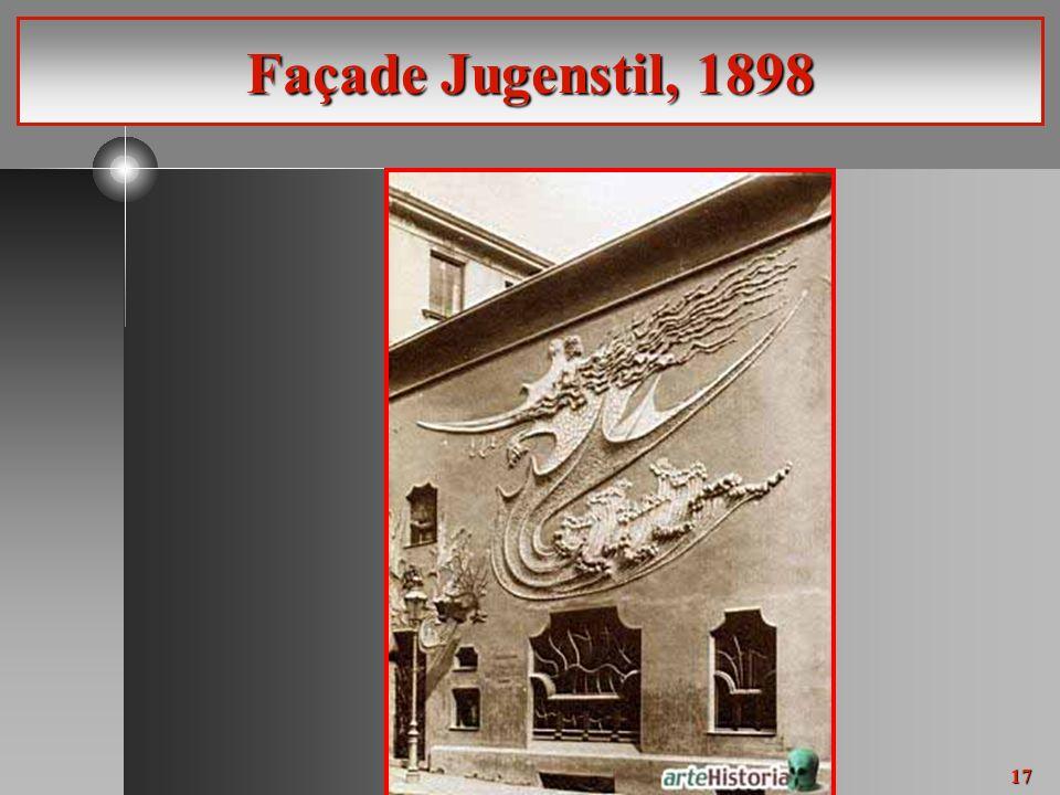 17 Façade Jugenstil, 1898